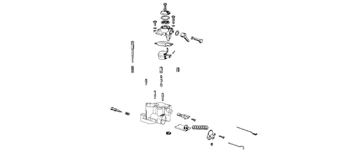 Carburatore ricambi