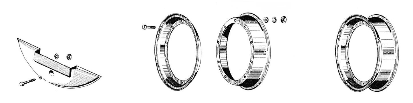 Cerchio e ruota di scorta