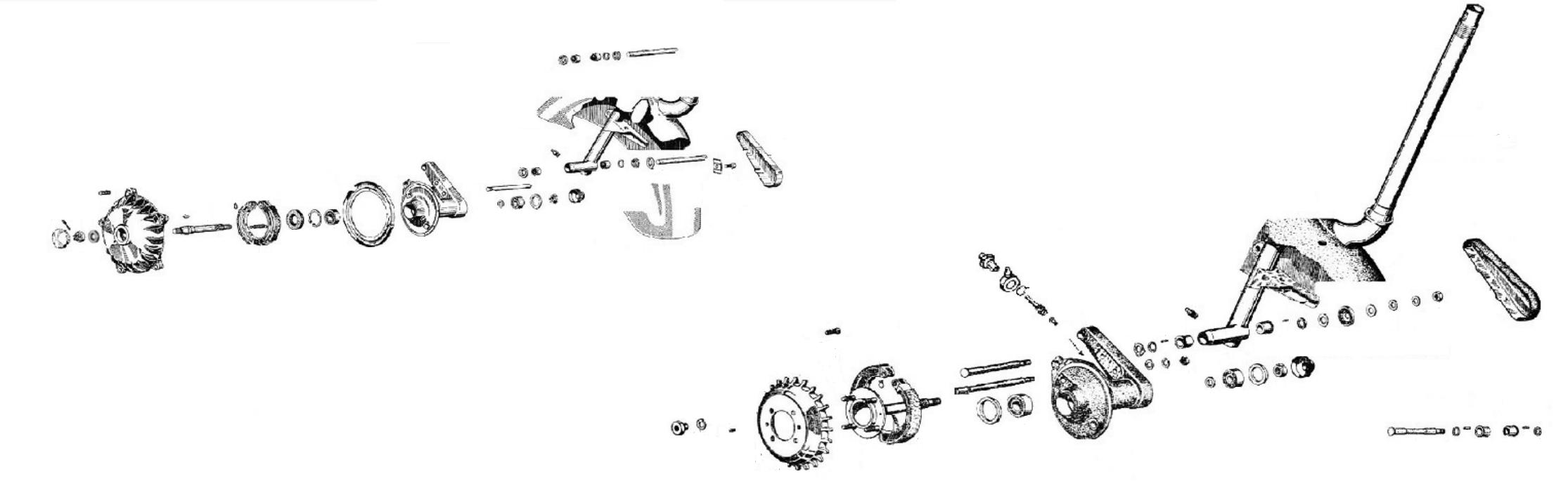Tamburo e mozzo anteriore