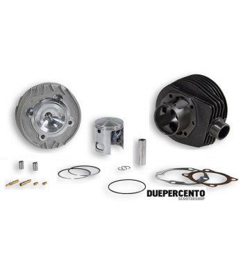 Cilindro da competizione MALOSSI MK III 166cc, d61, corsa 57 per Vespa PX125-150/ Lusso/ Cosa125-150/ LML125-150/ GTR/ TS/ Sprint Veloce