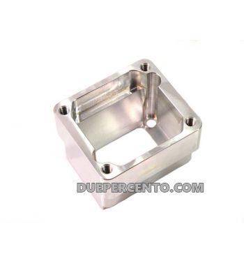 Porta pacco MRP per pacco RD350, foro di aspirazione al carter lungo - Vespa PX125-200/ P200E/ RALLY/ GTR/ T5/ COSA