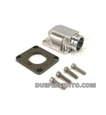 Collettore CNC, MRP da 30mm per porta pacco MRP RD350 per Vespa PX125-200 / P200E / 180-200 Rally/ Cosa/ Sprint/ GTR / T5