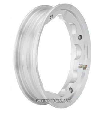 Cerchio in lega TUBELESS SIP PERFORMANCE 2,10-10 grigio lucido per Lambretta 125-200cc