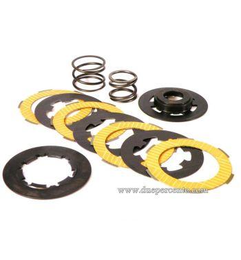 Frizione POLINI RACE doppia molla, 3 dischi per Vespa 50/ 50 Special/ ET3/ Primavera/ PK50-125/ FL/ XL/ ETS/ N/ APE