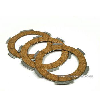 Dischi frizione POLINI per rapporto primario di alluminio POLINI Vespa 50/ 50 Special/ ET3/ Primavera/ PK50-125/ S/ XL/ XL2/ ETS - 3 dischi