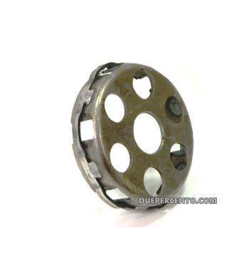 Cestello DXC Sport con trattamento ad induzione e anello di rinforzo per frizioni 6 molle per Vespa PX125-150/ GTR/ TS/ Sprint/ GL/ VNB/ VBA/ LML125-150