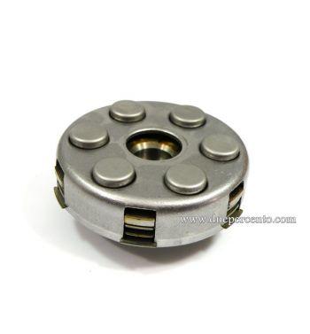 Frizione 6 molle, z21 denti, NEWFREN  per Vespa PX125-150/ GTR/ TS/ Sprint/ GL/ VNB/ VBA/ LML125-150