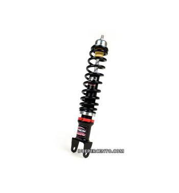 Ammortizzatore posteriore CARBONE HI TECH molla NERA Vespa 50/ ET3/ Primavera/ PX125-200/ P200E/ COSA/ T5