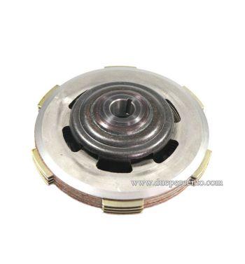 Frizione FERODO monomolla, 4 dischi in sughero. 3 infradischi, 1 molla rinforzata per Vespa 50/ 50 Special/ ET3/ Primavera/ PK50-125