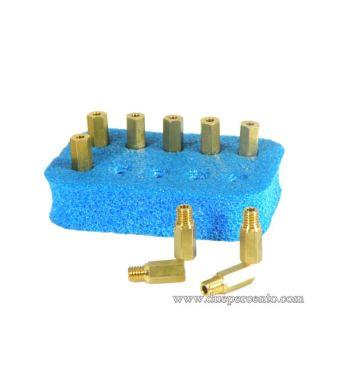 Set getti massimo POLINI 160-178 per carburatore CP/PWK/KEIHIN (160-162-164-166-168-170-172-174-176-178)
