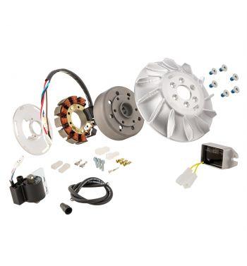 Accensione elettronica SIP PERFORMANCE ROAD, AC, anticipo fisso, 1,66Kg, per Vespa PX125-200/ P200E/ Lusso/ Cosa/ 125 GTR/ TS/ 150 Sprint Veloce/ 200 Rally,