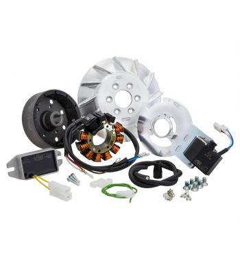Accensione elettronica SIP PERFORMANCE ROAD, cono 19,  AC, anticipo fisso, 1,39Kg, per Vespa 50/ 50 Special/ ET3/ Primavera/ PK50-125