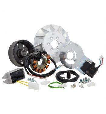 Accensione elettronica SIP PERFORMANCE ROAD, cono 20,  AC, anticipo fisso, 1,39Kg, per Vespa PK 50-125/ S/ XL/ XL2/ FL/ HP/ N/ Rush