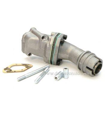 Collettore aspirazione lamellare 2 fori POLINI 16mm per Vespa 50/ 50 special/ ET3/ primavera