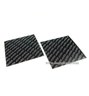 Set lastre in fibra di carbonio POLINI 110x110mm SP.0,30
