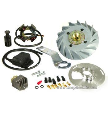 Accensione elettronica QUATTRINI VESPATRONIC - 1,7Kg - per Vespa PX125-200/ P200E/ Lusso/ Cosa/ 125 GTR/ TS/ 150 Sprint Veloce/ 200 Rally