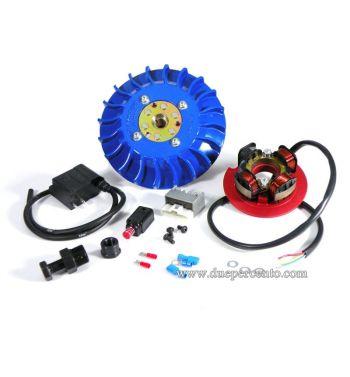 Accensione elettronica PARMAKIT cono 20mm, 1Kg, volano integrale, ventola blu, Vespa PK 50-125/ S/ XL/ XL2/ FL/ HP/ N/ Rush