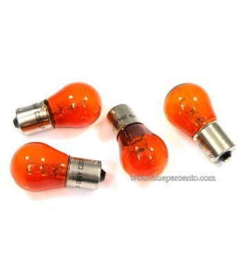 Kit lampadine ARANCIONI 12V 21W per frecce  Vespa PX125-200 / P200E / Cosa/ T5/ PK50-125