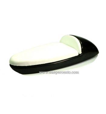Sella sportiva CORSA in abs con cuscino bianco per Vespa 50/ 50 Special/ ET3/ Primavera