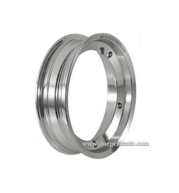 Cerchio in lega TUBELESS SIP PERFORMANCE 2.50-10 alluminio lucido per Vespa 50/ 50 special/ ET3/ PX125-200/ P200E/ Rally 180-200/ T5/ GTR/ TS/ Sprint