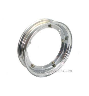Cerchio F.A.ITALIA 2.10-10 cromato per Vespa 50/ 50 special/ ET3/ PX125-200/ P200E/ Rally 180-200/ T5/ GTR/ TS/ Sprint