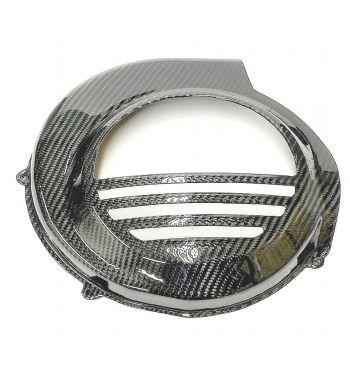 Coprivolano TOMAS COMPOSITI in FIBRA di CARBONIO Vespa PX125-200/ PE200 avviamento elettrico