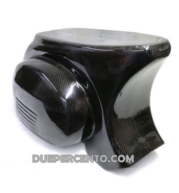 Carena posteriore in fibra di carbonio TOMAS COMPOSITI per Vespa 50/ 50 Special/ ET3/ Primavera