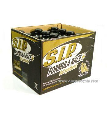 Olio sintetico per miscela SIP FORMULA RACE PLUS - 12 Flaconi