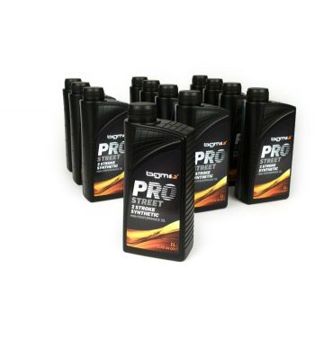 Olio semi sintetico per miscela BGM PRO STREET 2 - 12 flaconi