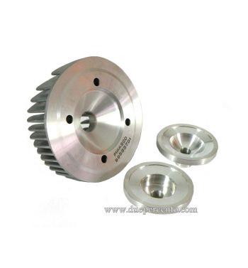 Testa cilindro PINASCO VRH GP 177cc, completa di due testine sostituibili per Vespa PX125-150/ Lusso/ Cosa125-150/ LML125-150/ GTR/ TS/ Sprint Veloce