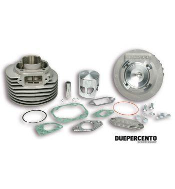 Cilindro da competizione MALOSSI MHR 136cc, d57,5, corsa 51, in alluminio per Vespa 50/ 50 Special/ ET3/ Primavera/ PK50-125