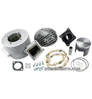 Cilindro da competizione QUATTRINI M210TV 210cc, per Lambretta 125 LI/ Special/ DL/ GP/ 150 LI/ Special/ SX/ DL/ GP/ 175 TV 2°-3°