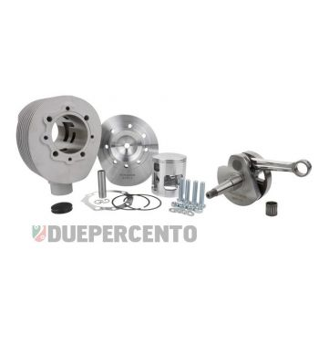 Tuning kit PINASCO 190cc in alluminio, 2 travasi corsa lunga 60 Vespa 125 VNB/ GT/ GTR 1°/ Super/ 150 VBA/ VBB/ GL/ Sprint 1°