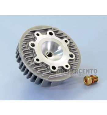 Testa POLINI 177cc alluminio con doppio foro candela per Vespa PX125-150/ Lusso/ Cosa125-150/ LML125-150/ GTR/ TS/ Sprint Veloce
