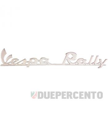 """Targhetta posteriore """"Vespa Rally"""" per Vespa 180 Rally"""