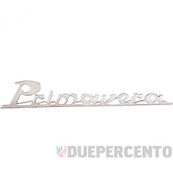 """Targhetta posteriore """"Primavera"""" per Vespa 125 Primavera"""