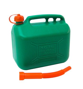 Tanica per benzina con beccuccio - 10 Litri