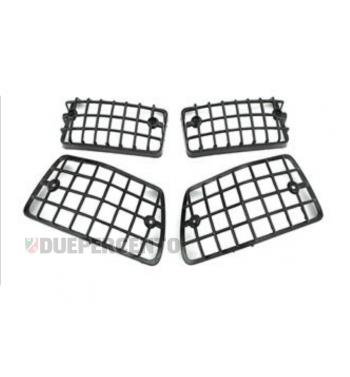 kit griglia protettiva in plastica nera Vespa PX125-200/ P200E/ MY/ T5
