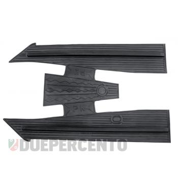 Tappeto pedana in gomma nero per Vespa PK50-125/ S/ SS/ ETS
