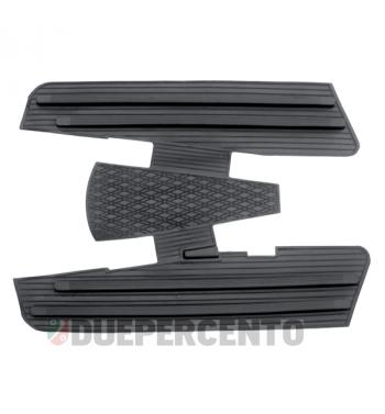 Tappeto pedana in gomma nero per Vespa 125 GT/ GTR/ Super/ TS/ GL/ Sprint/V/ 160 GS/ 180SS/ Rally