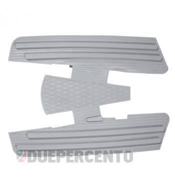 Tappeto pedana in gomma grigio per Vespa 125 GT/ GTR/ Super/ TS/ GL/ Sprint/V/ 160 GS/ 180SS/ Rally