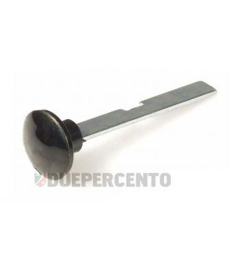 Pomello tirante aria, bottone in plastica, nero per Vespa 50/ 50 Special/ ET3/ Primavera