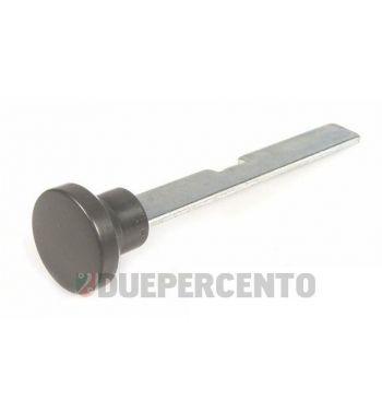 Pomello tirante aria, bottone in plastica, nero per Vespa PK50-125/S/SS/XL/ETS