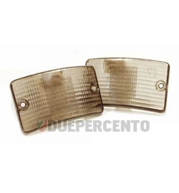 Kit vetri frecce anteriori neri per Vespa PK50-125 XL/ RUSH/ XL2/ N/ FL/ HP