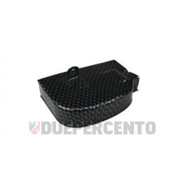 Coperchio preselettore marce carbon look per Vespa 125 VNB5-6T/ GT/ GTR 1°/ Super/ TS/ 150 VBB/ GL/ Sprint/ Rally