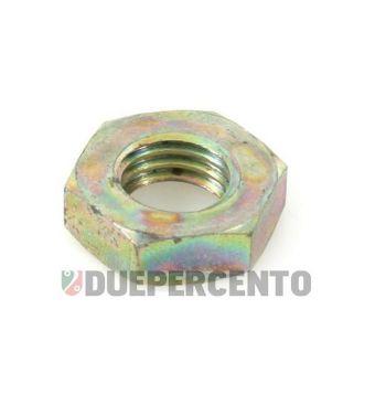 Dado PIAGGIO M9 mm, chiave da 13 mm, a=4,50 mm, fissaggio perno ingranaggio multiplo per Vespa VNB/ TS/ VBA/ Super/ 160 GS/ 180 SS/ PX 125-150