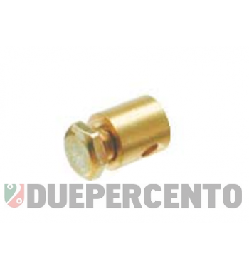 Morsetto acceleratore ø 5.5 x 6 mm, filetto 1/8, per Vespa 50/ 50 special/ ET3/ PK50-125/ PX125-200/Rally/ GTR/ GL