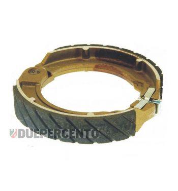 "Ganasce freno posteriore ANTIACQUA NEWFREN 8"", d127x23 per Vespa 125 V1-33/ VM/ VN/ VNA/ VNB1-3T/ 150 VL/ VB/ VBA/ VBB1T/ VGL1"