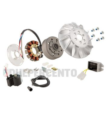 Accensione elettronica SIP PERFORMANCE ROAD cono 17mm, 1.66Kg, AC, anticipo fisso per Vespa 125 VNA/VNB/GT/GTR 1° /Super/TS 1°/150 VBA/VBB/GL