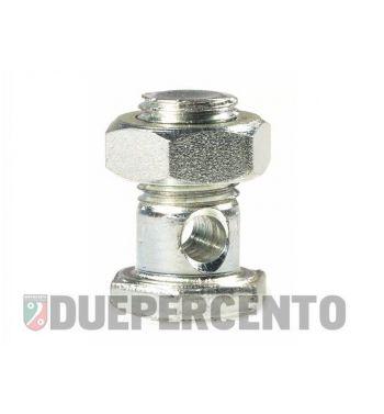 Morsetto cavo freno posteriore per Vespa 50/ PV/ ET3/ PK/ XL/ GT/ TS/ GL/ GS VS5T/ Sprint/ 160 GS/ 180 SS/ Rally/ PX/ PE/ Lusso